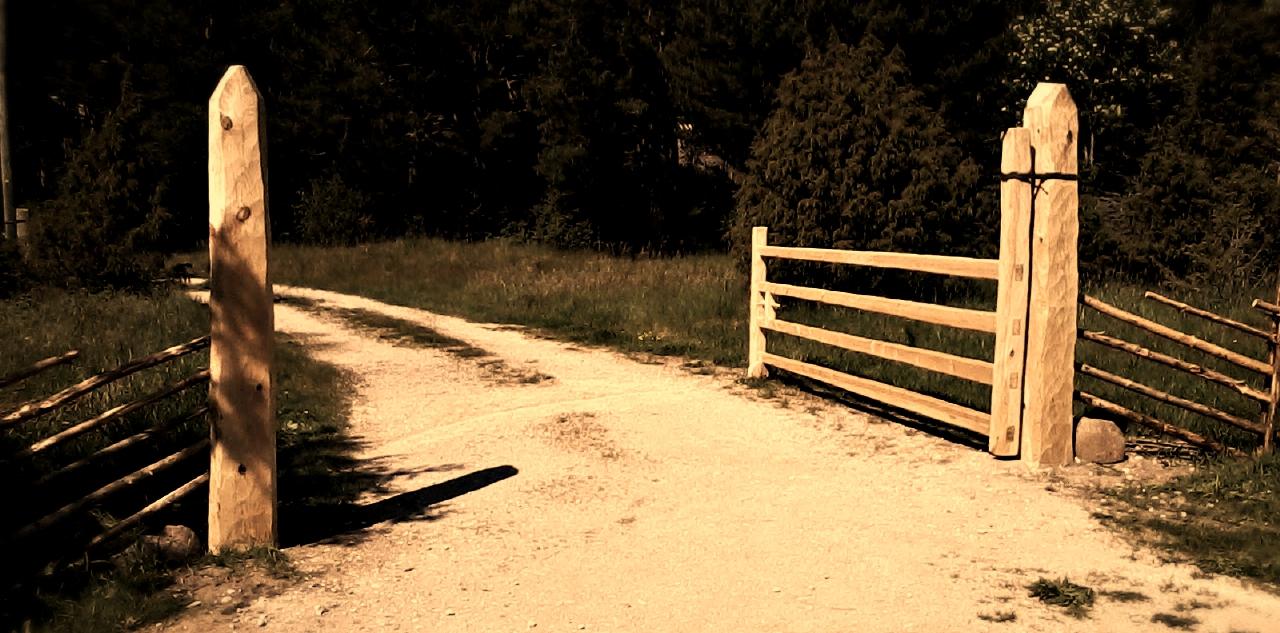 värav, puitdisain, käsitöö