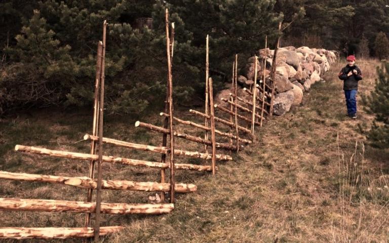 korendusaed, aed, puitdisain, eesti traditsiooniline käsitöö, eesti ajaloopärand