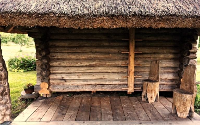 ait, terrass, redel palkmaja, eesti ajalugu, traditsiooniline käsitöö